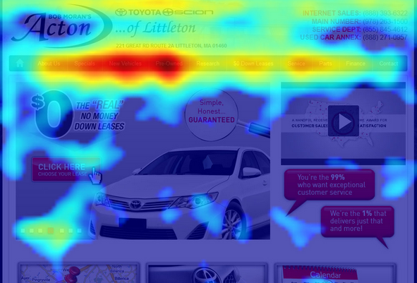 Hotjar Heatmaps Track Your Website Performance